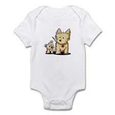 Cairn Mom & Puppy Infant Bodysuit