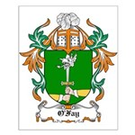O'Fay Coat of Arms Small Poster