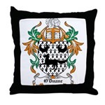 O'Duane Coat of Arms Throw Pillow