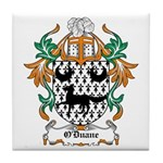 O'Duane Coat of Arms Tile Coaster