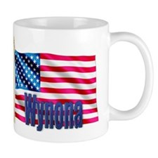 Wynona Personalized USA Flag Mug