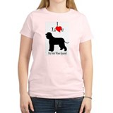 Irish Water Spaniel Women's Pink T-Shirt