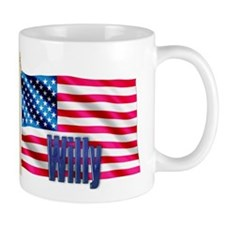Willy Personalized USA Flag Mug