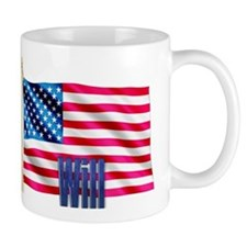Will Personalized USA Flag Mug