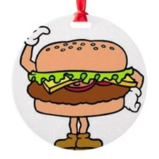 Happy burger Ornament