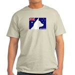 Obey the ACD! Tricolor Ash Grey T-Shirt
