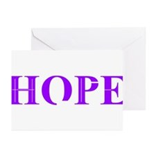 Purple Hope Greeting Cards (Pk of 20)