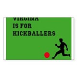 Virginia is for kickballers Decal