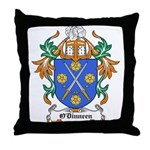 O'Dinneen Coat of Arms Throw Pillow