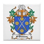 O'Dinneen Coat of Arms Tile Coaster