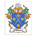O'Dinneen Coat of Arms Small Poster