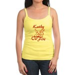 Kathy On Fire Jr. Spaghetti Tank