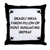 Deadly Ninja Fighting Pillow