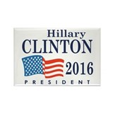 Hillary Clinton 2016 Rectangle Magnet