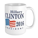 Hillary Clinton 2016 Ceramic Mugs