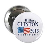 "Hillary Clinton 2016 2.25"" Button"