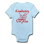 Kimberley On Fire Infant Bodysuit