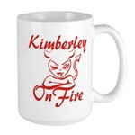 Kimberley On Fire Large Mug