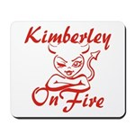 Kimberley On Fire Mousepad