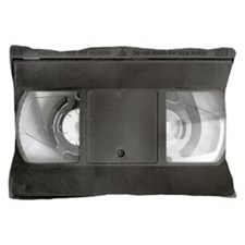 VHS Tape Pillow Case
