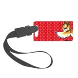Collie Pop Art Small Luggage Tag