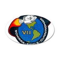 Apollo 7 Mission Patch Wall Decal