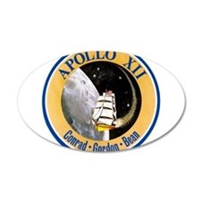 Apollo 12 Mission Patch Wall Decal