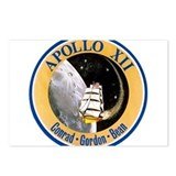 Apollo 12 Mission Patch Postcards (Package of 8)