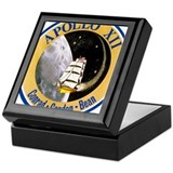 Apollo 12 Mission Patch Keepsake Box