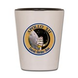 Apollo 12 Mission Patch Shot Glass