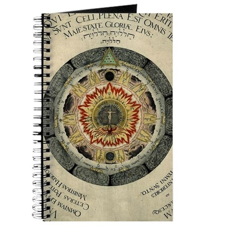 Cosmic Rose Alchemical Journal