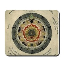 Cosmic Rose Alchemical Mousepad