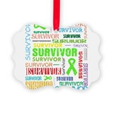 Survivor Non-Hodgkin Lymphoma Ornament