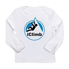 Rock Climber Long Sleeve Infant T-Shirt