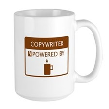 Copywriter Powered by Coffee Mug