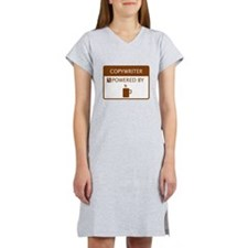 Copywriter Powered by Coffee Women's Nightshirt