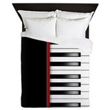 Piano duvet Queen Duvet Covers