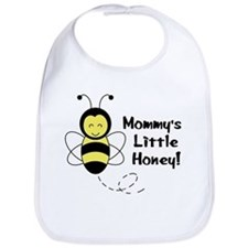 """Mommy's Little Honey"" Baby Bee Bib"