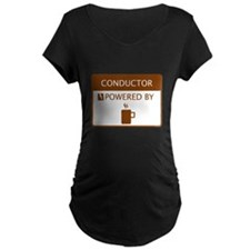 Conductor Powered by Coffee T-Shirt