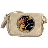 Apollo 17 Mission Patch Messenger Bag