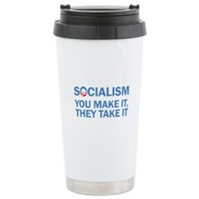 Socialism Ceramic Travel Mug