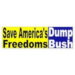 Save America's Freedoms Bumper Sticker