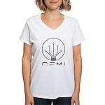 CEMI Logo Women's V-Neck T-Shirt