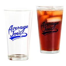 AJs Blue Drinking Glass