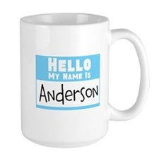 Personalized Name Tag Mug