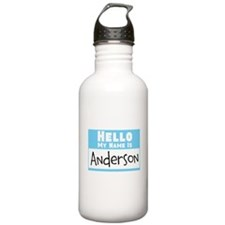 Personalized Name Tag Sports Water Bottle