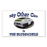 Bluesmobile Sticker (Rectangle 50 pk)