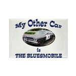 Bluesmobile Rectangle Magnet