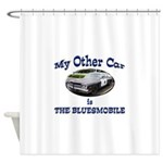 Bluesmobile Shower Curtain