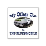 Bluesmobile Square Sticker 3